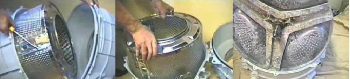 Вынимаем барабан